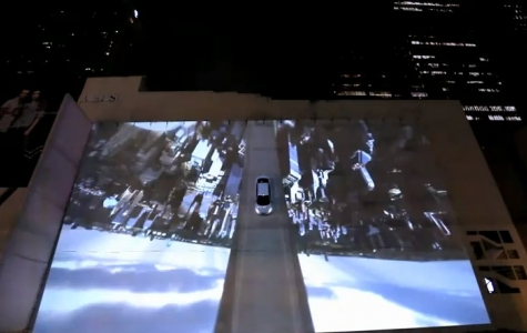 Hyundai Accent, 'gerçek otomobilli' projection mapping