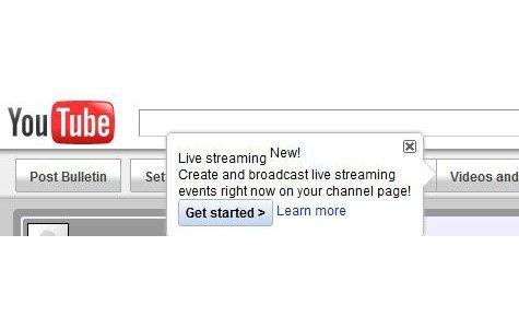YouTube 'canlı yayına' geçiş yapıyor!