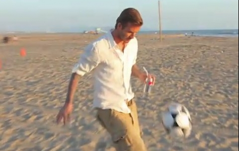 Pepsi Light'ın David Beckham'la Bayat Virali