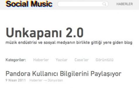 Yeni müzik endüstrisi blogu: Social Music