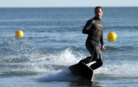 Dalga olmadan surf yapma – Jet Surf