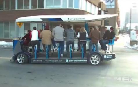 City Cycle: mobil bisiklet – otobüs bar
