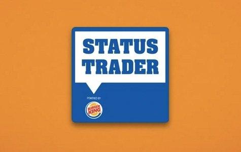 Burger King, Status Trader: Facebook ve Twitter hesabı kiralama