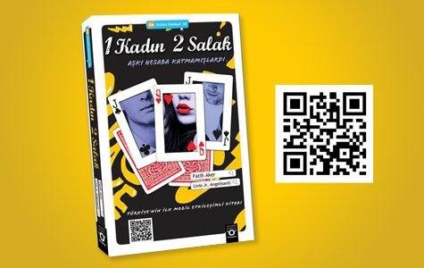Dizüstü Edebiyat'tan mobil etkileşimli kitap: 1 Kadın 2 Salak