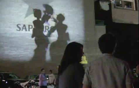 Sapporo Motion Projection – Kinect ile gölge şovu