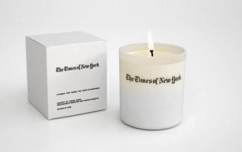 Dijital dünyada gazete kokusunu özleyenlere: New York Times Mumu