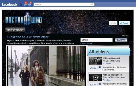 'Doctor Who' dizi bölümleri Facebook kredileri ile satılıyor