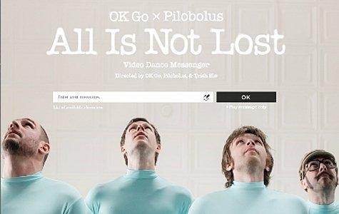OK Go: All Is Not Lost (HTML5 çiçek dürbünü klip)