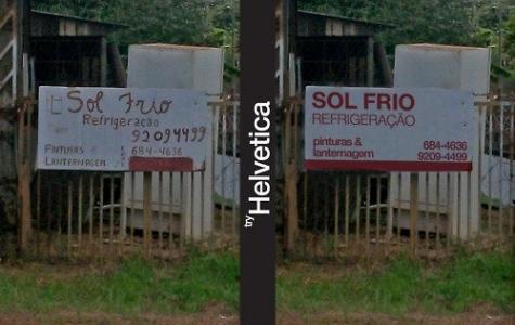 Try Helvetica / Helvetica'yı Dene