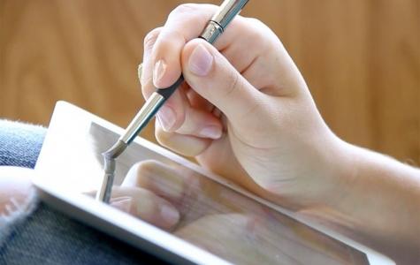 iPad için Yağlı Boya Fırçası