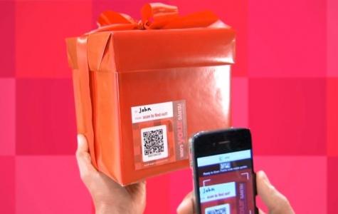 Hediye paketlerine sesli mesaj servisi: Santa Tag