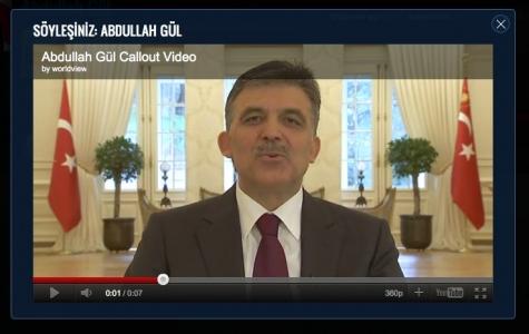 Cumhurbaşkanı Gül YouTube'dan Halka Seslenecek
