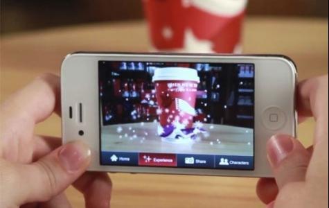 Arttırılmış Gerçeklik Starbucks Bardakları