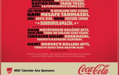 Coca-Cola Milli Takım Sponsorluğu İletişimi