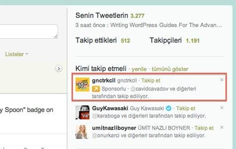 Turkcell, Twitter'a reklam verdi * Twitter'da yerel reklamlar