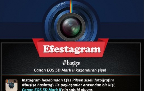 Efes Pilsen'den İlk Türk Instagram Projesi: Efestagram