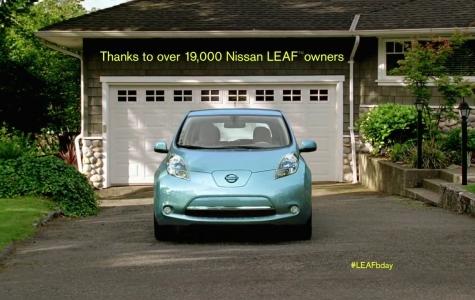 Nissan Leaf 1 Yaşında