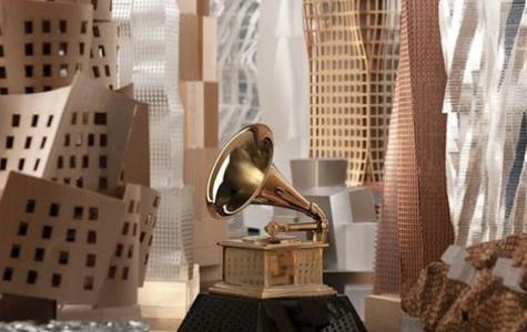 Frank Gehry'den Grammy 2012 Posteri
