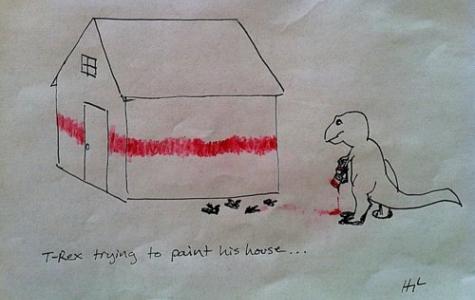 T-Rex Deniyor…