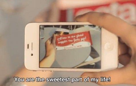 Lacta: Arttırılmış Gerçeklik ile Çikolatalı Sevgi Mesajları