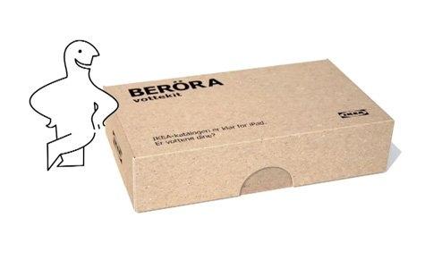IKEA BERÖRA: IKEA iPad Katoloğu Tanıtım Kampanyası