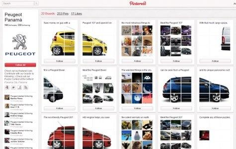 Peugeot – Pinterest Yapboz Oyunu
