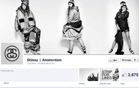 Strip for Likes – Stüssy Amsterdam Modelinden Fotoğraflı Striptiz Show