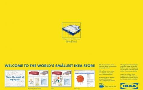Dünyanın En Küçük IKEA Mağazasına Hoşgeldiniz!