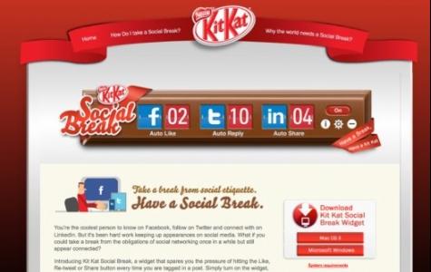'Kit Kat Social Break' ile Sosyal Medyaki Yükünüzü Hafifletin!