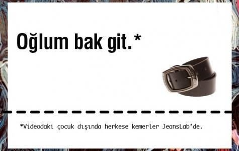"""""""Oğlum Bak Git!"""" JeansLab'in Sosyal Medya Stratejisi"""