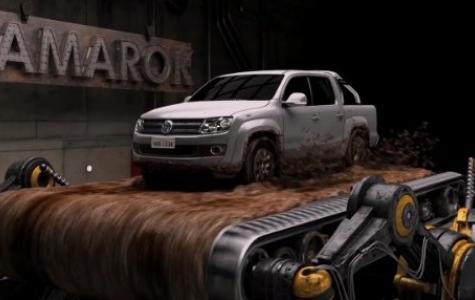 Volkswagen Amarok – Kafayla Kontrol Edilebilen Interaktif Site