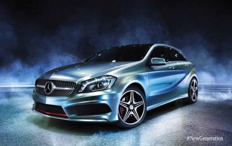 Mercedes-Benz A-Class Lansmanı
