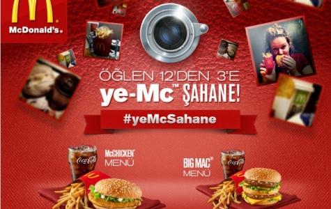 McDonald's'ta Ye-McSahane Instagram Uygulaması