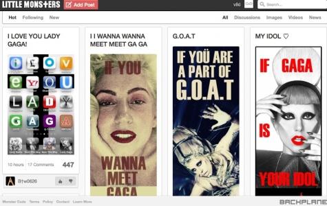 Lady Gaga'nın Sosyal Ağı: LittleMonsters