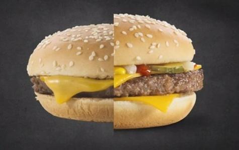 McDonald's Hamburger Fotoğraf Çekimlerinin Kamera Arkası