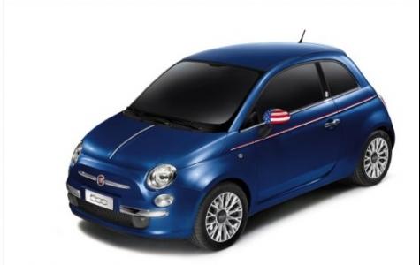 Özel Üretim Fiat 500 America Twitter'dan Açık Artırmayla Satıldı