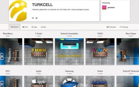 Turkcell'in 'Timterest' Mağazası