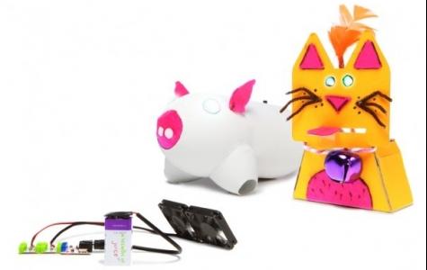 littleBits – Elektronik Modül Parçalarını Birleştirip Oyuncak Yaratmaca