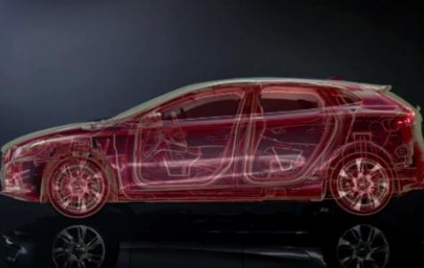 Volvo'nun X-Ray gibi çalışan artırılmış gerçeklik uygulaması