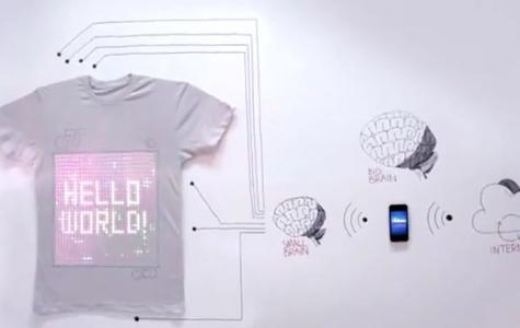tShirtOS – Dünyanın İlk Programlanabilir T-shirt'ü