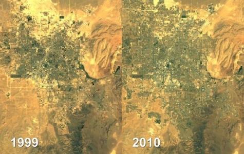 Dünyanın Nasıl Değiştiğine Uydu Görüntülerinden Tanık Olun!