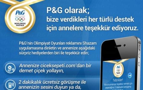 P&G'den Türkiye'nin ilk Shazam entegre Kampanyası