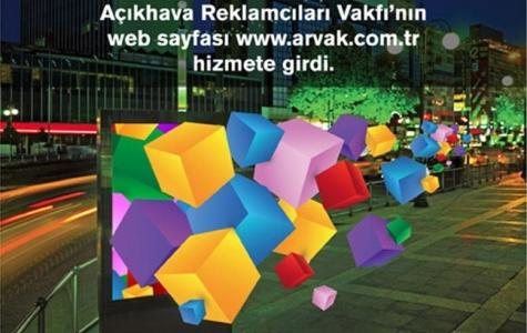 Açıkhava Reklamcıları Vakfı'nın internet sayfası hizmete girdi