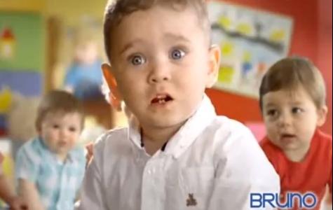 """Bruno'nun bebekleri """"O burun tıkanacak arkadaş!"""" diyor"""