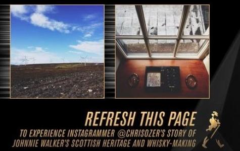 Johnnie Walker – Instagram Fotoğraflarından Facebook Kapak Fotoğrafı