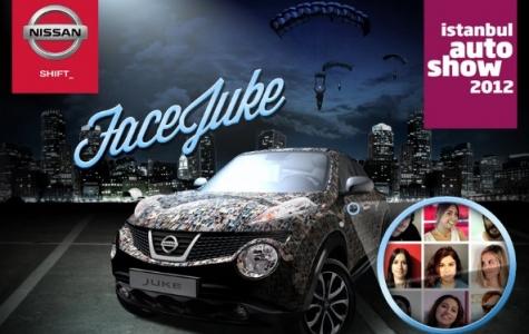 Auto Show 2012'de Nissan'dan FaceJuke