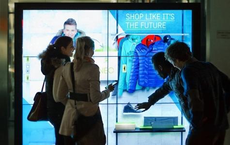 Adidas'ın İnteraktif Vitrini