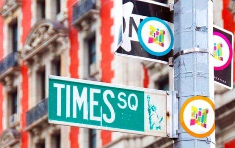 Time Square'i sanat alanı haline getirme projesi