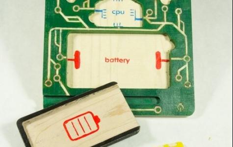 Çocuklara elektronik öğreten analog oyuncak