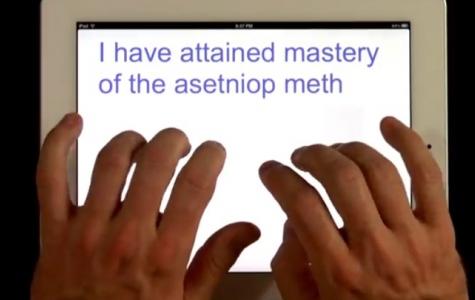 ASETNIOP – Görünmez klavye